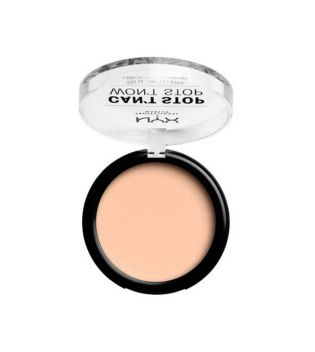 Nyx Professional Makeup - Polvo Compacto Can't Stop won't Stop - CSWSPF04: Light Ivory