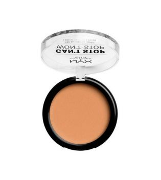 Nyx Professional Makeup - Polvo Compacto Can't Stop won't Stop - CSWSPF07.5: Soft Beige
