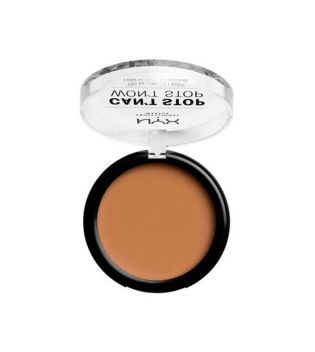 Nyx Professional Makeup - Polvo Compacto Can't Stop won't Stop - CSWSPF12.7: Neutral Tan