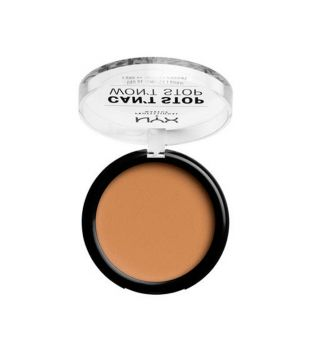 Nyx Professional Makeup - Polvo Compacto Can't Stop won't Stop - CSWSPF13: Golden