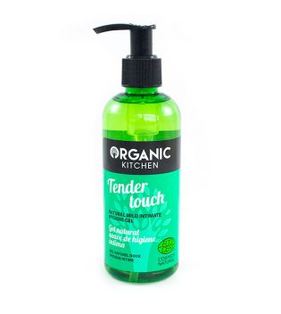 Organic Kitchen - Gel natural suave de higiene íntima Tender Touch