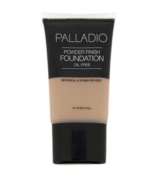 Palladio - Base de maquillaje líquida Powder finish - 03: Vanilla