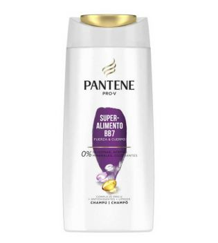 Pantene - Champú Superalimento BB7 fuerza y cuerpo - 700ml