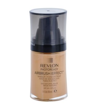 Revlon - Base de Maquillaje fluida Photoready Airbrush effect - 005: Natural Beige