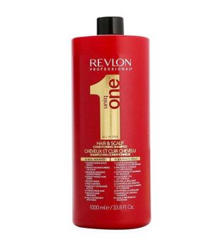 Revlon - Champú acondicionador Uniq One Hair&scalp 1000ml