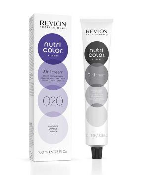 Revlon - Coloración Nutri Color Filters 3 en 1 Cream 100ml - 020: Lavanda