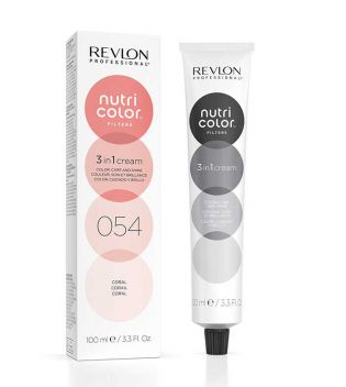 Revlon - Coloración Nutri Color Filters 3 en 1 Cream 100ml - 054: Coral