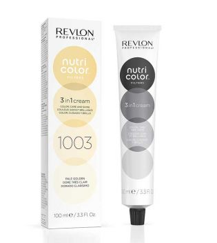 Revlon - Coloración Nutri Color Filters 3 en 1 Cream 100ml - 1003: Dorado Clarísimo