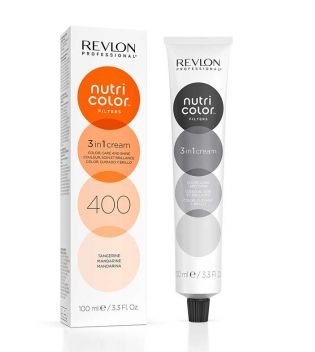 Revlon - Coloración Nutri Color Filters 3 en 1 Cream 100ml - 400: Mandarina