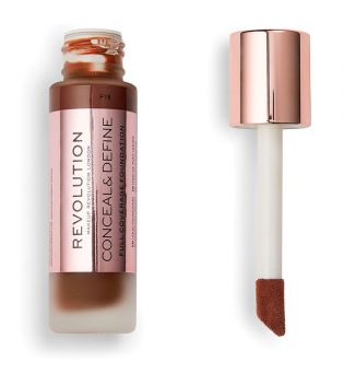 Revolution - Base de maquillaje Conceal & Define - F18