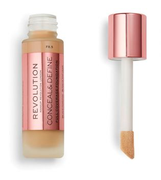 Revolution - Base de maquillaje Conceal & Define - F8.5
