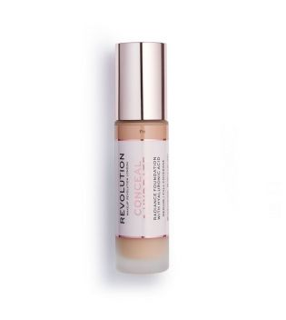Revolution - Base de maquillaje Conceal & Hydrate - F11