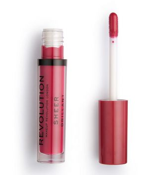 Revolution - Brillo de Labios Sheer Lip - 141 Rouge
