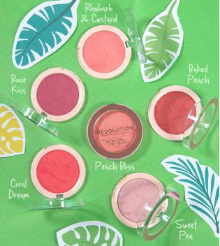 Revolution - Colorete Blusher Reloaded - Rhubarb & Custard