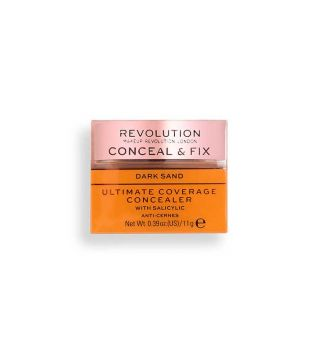 Revolution - Corrector Ultimate Coverage Conceal & Fix - Dark Sand