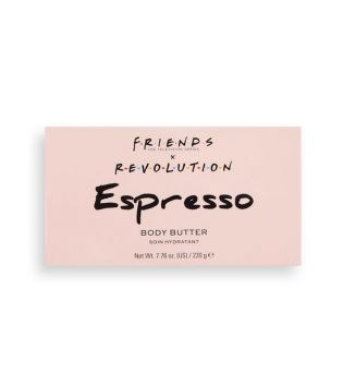 Revolution - *Friends X Revolution* - Manteca corporal Espresso