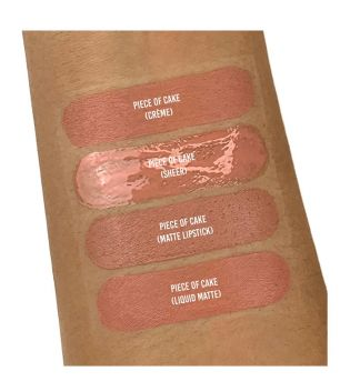 Revolution - Labial líquido Crème Lip - 101 Piece of Cake