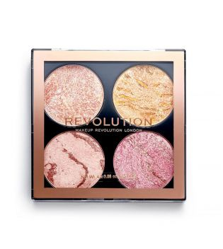 Revolution - Paleta de iluminadores y bronceadores Cheek Kit - Fresh Perspective