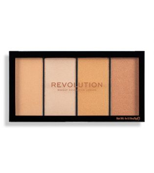 Revolution - Paleta de Iluminadores Re-Loaded - Lustre Lights Warm