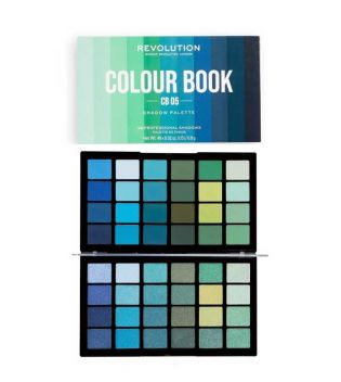 Revolution - Paleta de sombras Colour Book - CB05