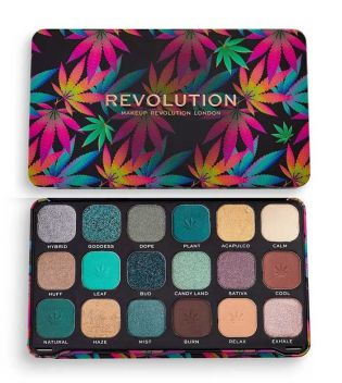 Revolution - *Good vibes* - Paleta de Sombras Forever Flawless - Chilled