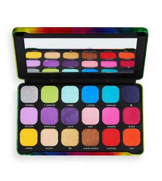 Revolution - Paleta de Sombras Forever Flawless - We Are Love
