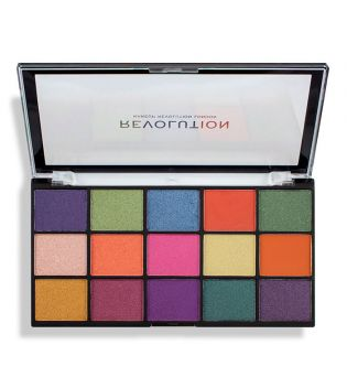 Revolution - Paleta de sombras Reloaded - Passion for colour