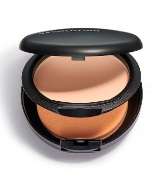 Revolution Pro - Base de maquillaje en polvo Pro Powder Foundation - F3