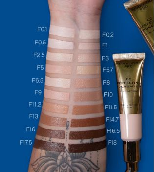 Revolution Pro - CC Cream Perfecting Foundation SPF 30 - F5