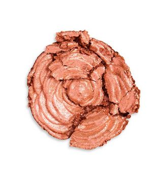 Revolution Pro - Iluminador en polvo Lustre Highlighter - Rose Gold