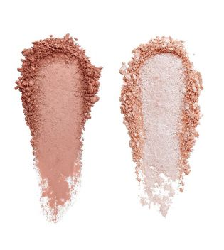 Revolution Pro - Paleta de iluminador y contorno Sculpt and Glow - Sands of Time