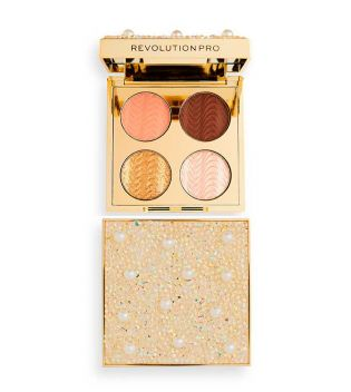 Revolution Pro - Paleta de sombras de ojos Ultimate Eye Look - Diamonds & Pearls