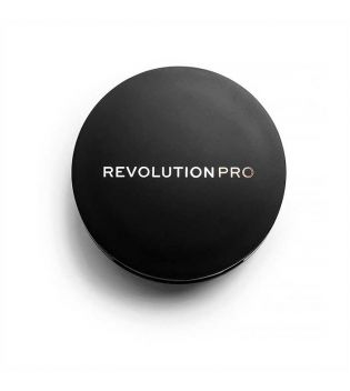 Revolution Pro - Sombra para cejas en polvo Duo Brow - Dark Brown