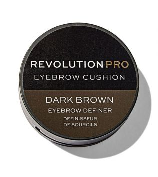 Revolution Pro - Tinte para cejas Cushion - Dark Brown