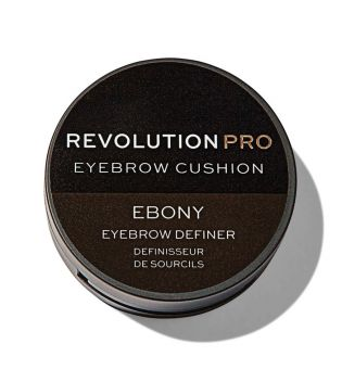 Revolution Pro - Tinte para cejas Cushion - Ebony