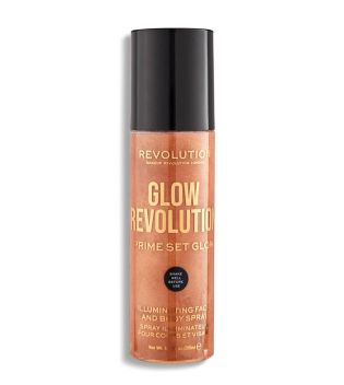 Revolution - Spray Fijador de Maquillaje Glow Revolution - Timeless Bronze