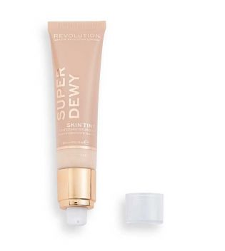 Revolution - *Super Dewy* - Hidratante con color Super Dewy Skin Tint - Light Beige