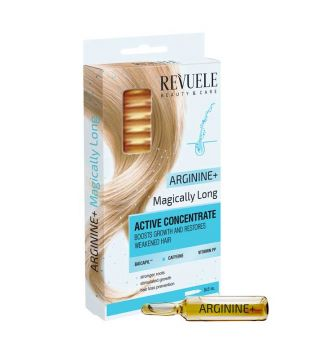 Revuele - Ampollas para cabello Arginine+ Magically Long
