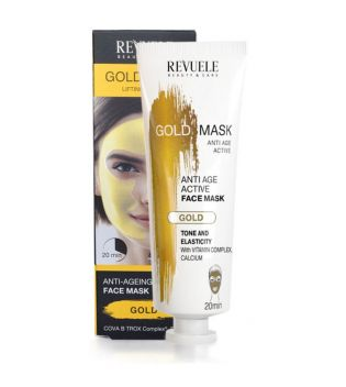 Revuele - Mascarilla facial Gold Mask Lifting Effect