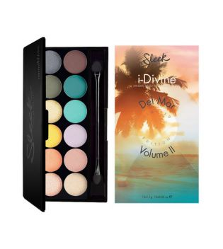 Sleek MakeUP - Paleta de sombras i-Divine Del Mar Vol.2