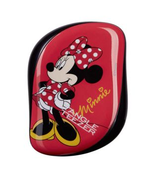 Tangle Teezer Compacto - Cepillo especial para desenredar - Minnie Mouse Rosie Red