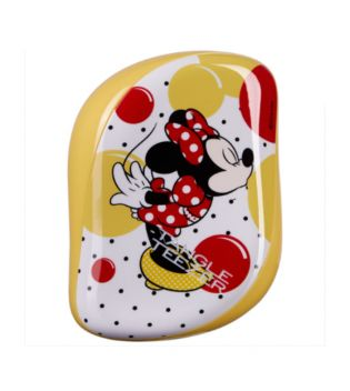 Tangle Teezer Compacto - Cepillo especial para desenredar - Minnie Mouse Sunshine Yellow