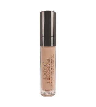 Technic Cosmetics - Corrector Líquido 3-IN-1 Canvas - Beige