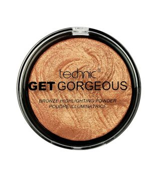 Technic Cosmetics - Iluminador en polvo Get Gorgeous - 24ct Gold