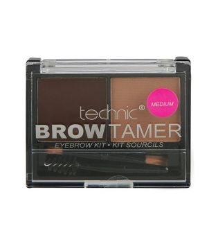 Technic Cosmetics - Kit de Cejas Brow Tamer - Medium