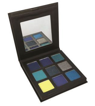 Technic Cosmetics - Paleta de sombras Pressed Pigments - Captivated