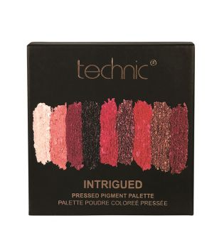 Technic Cosmetics - Paleta de sombras Pressed Pigments - Intrigued