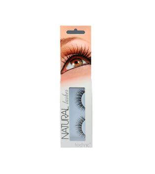 Technic Cosmetics - Pestañas postizas Natural Lashes - BC19