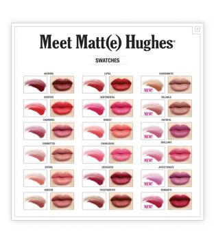 The Balm - Labial Líquido Meet Matt(e)  Hughes - Brilliant