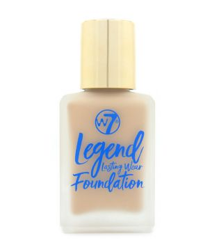 W7 - Base de maquillaje Legend Lasting Wear - Fresh beige